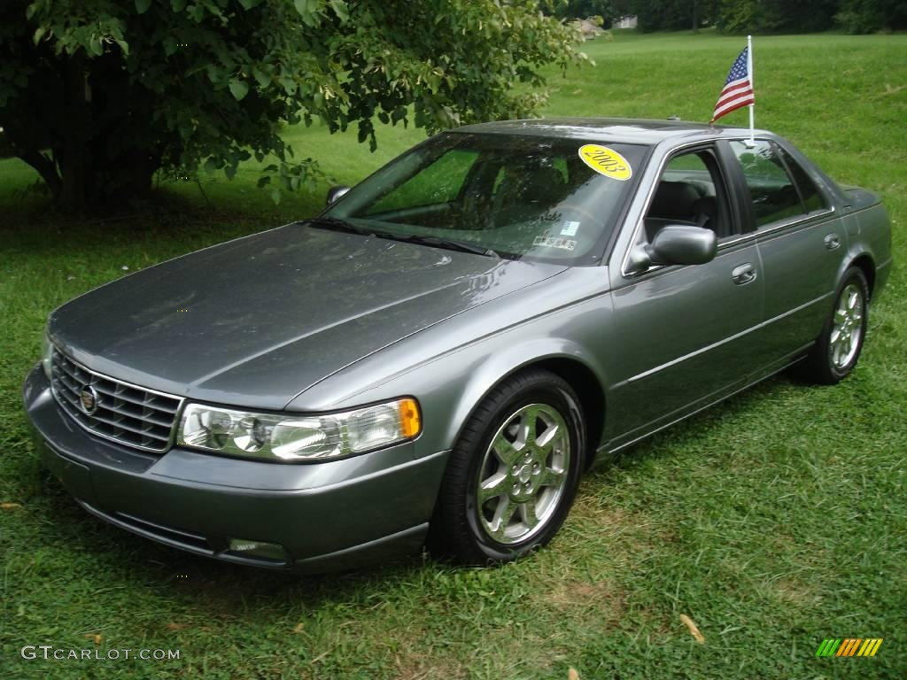 Thunder gray chromaflair cadillac seville