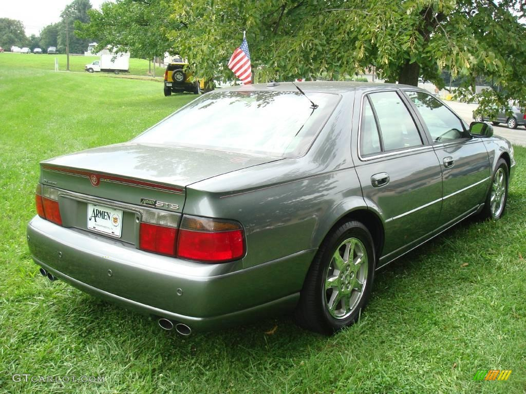 2003 thunder gray chromaflair cadillac seville sts 16372931 photo 7 car color. Black Bedroom Furniture Sets. Home Design Ideas