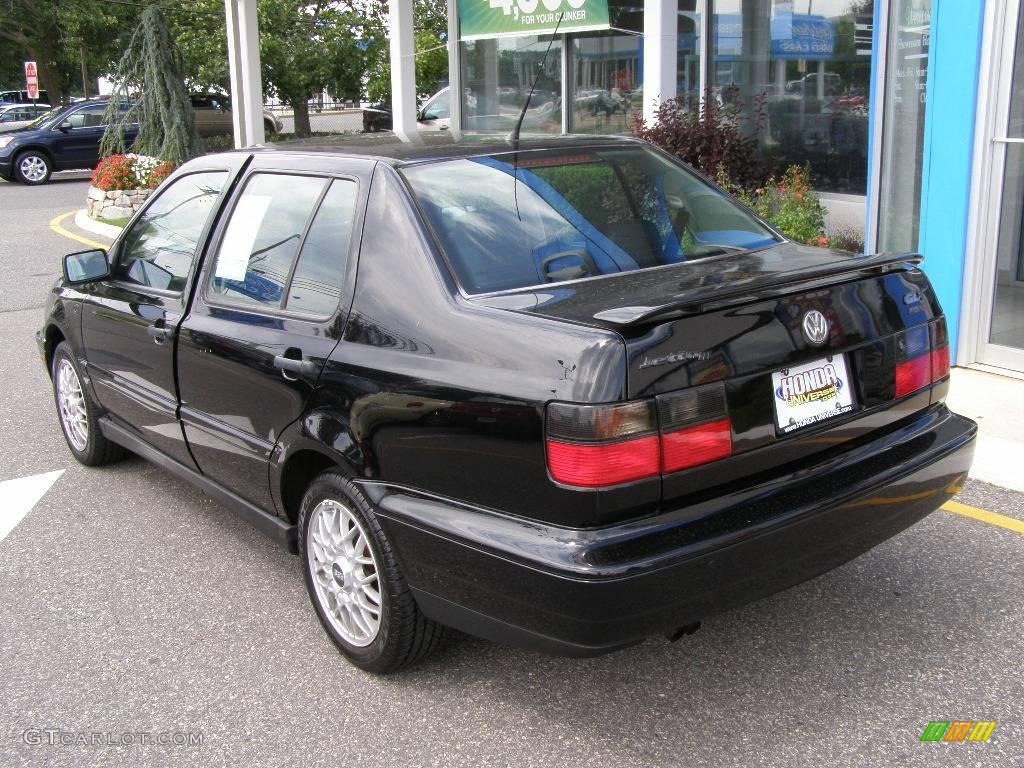 1994 jetta glx vr6 sedan black black photo 4