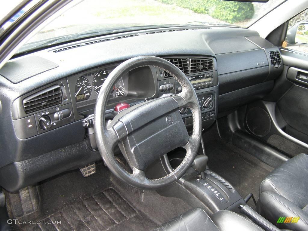 1994 jetta glx vr6 sedan black black photo 7