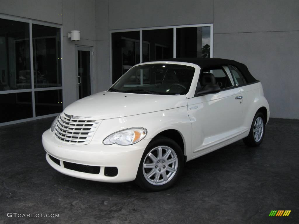 2006 Cool Vanilla White Chrysler Pt Cruiser Convertible 16376281