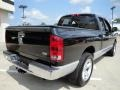 2006 Black Dodge Ram 1500 Laramie Quad Cab  photo #5