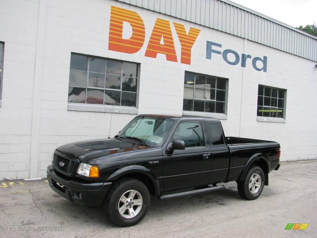 2005 black ford ranger edge supercab 4x4 16379789 car color galleries. Black Bedroom Furniture Sets. Home Design Ideas