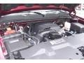 2009 Deep Ruby Red Metallic Chevrolet Silverado 1500 LS Extended Cab 4x4  photo #11