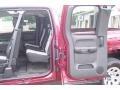 2009 Deep Ruby Red Metallic Chevrolet Silverado 1500 LS Extended Cab 4x4  photo #12