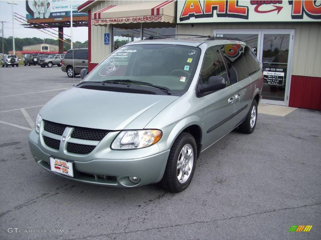 2003 satin jade pearl dodge grand caravan sport 16375891. Black Bedroom Furniture Sets. Home Design Ideas