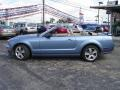 2006 Windveil Blue Metallic Ford Mustang GT Premium Convertible  photo #2