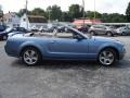 2006 Windveil Blue Metallic Ford Mustang GT Premium Convertible  photo #6