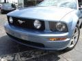 2006 Windveil Blue Metallic Ford Mustang GT Premium Convertible  photo #9