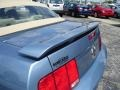 2006 Windveil Blue Metallic Ford Mustang GT Premium Convertible  photo #27