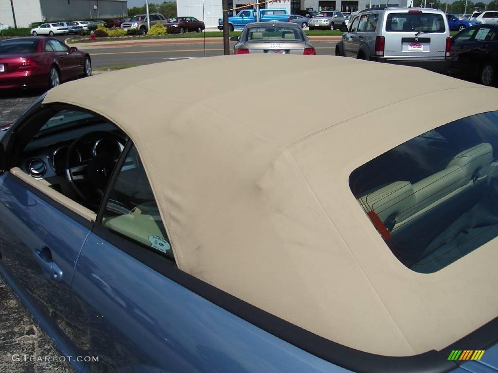 2006 Mustang GT Premium Convertible - Windveil Blue Metallic / Light Parchment photo #28