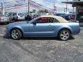 2006 Windveil Blue Metallic Ford Mustang GT Premium Convertible  photo #30