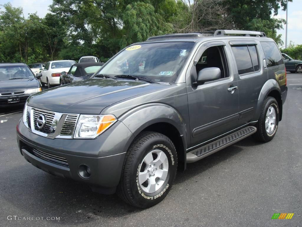 2007 storm gray nissan pathfinder se off road 4x4 - 2013 nissan pathfinder interior colors ...