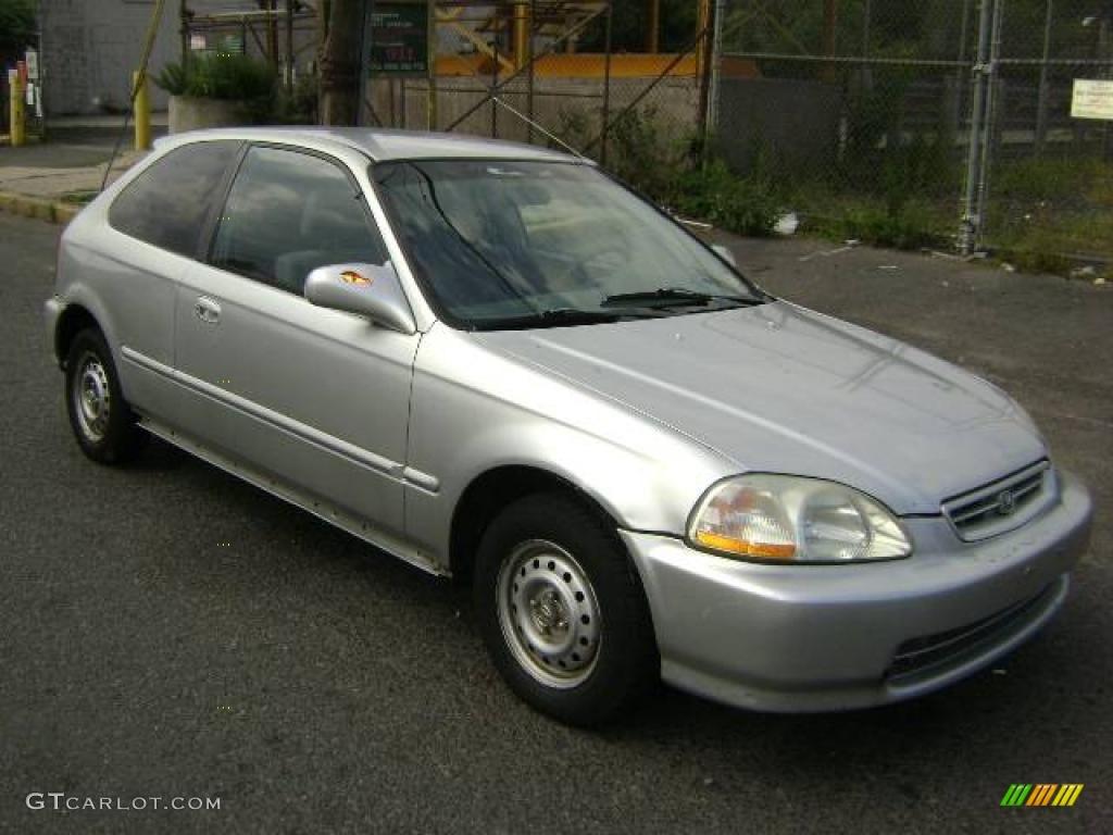1996 vogue silver metallic honda civic dx hatchback - 1996 honda civic hatchback interior ...