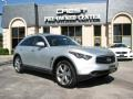 Liquid Platinum Metallic 2009 Infiniti FX 50 AWD S