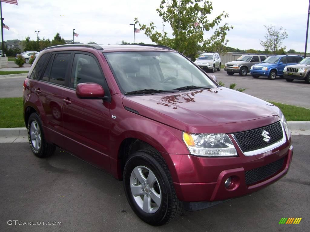 2007 shining red pearl suzuki grand vitara xsport 1621954 car color galleries. Black Bedroom Furniture Sets. Home Design Ideas