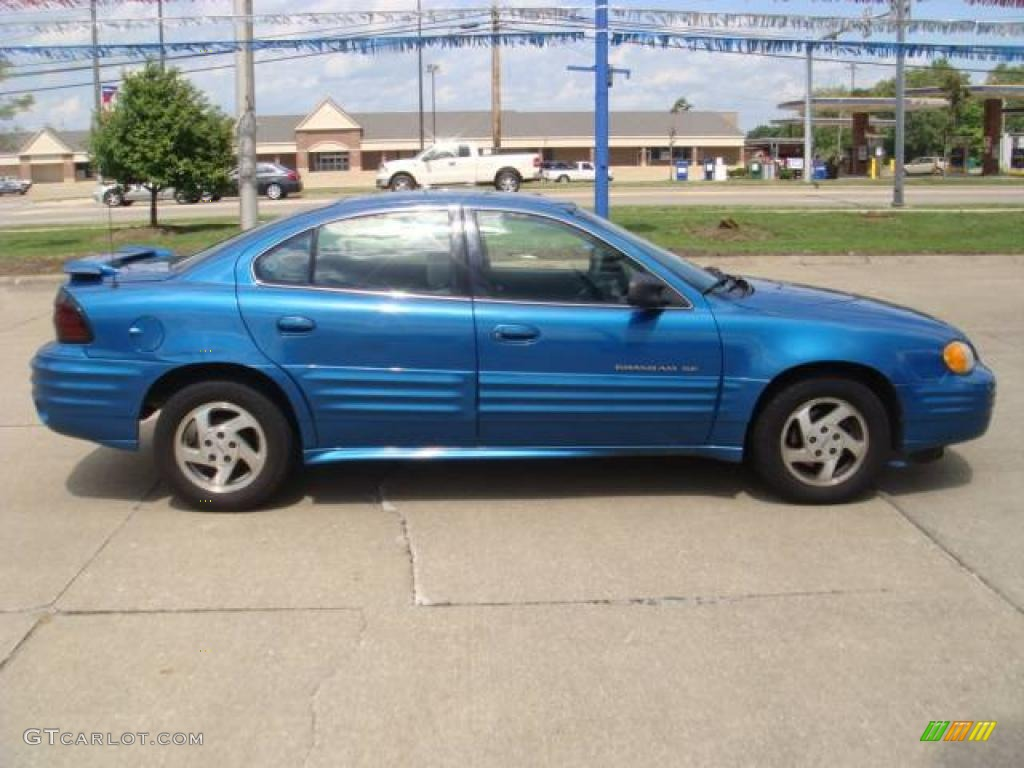 2000 medium gulf blue metallic pontiac grand am se sedan 16447599 photo 5 gtcarlot com car color galleries gtcarlot com