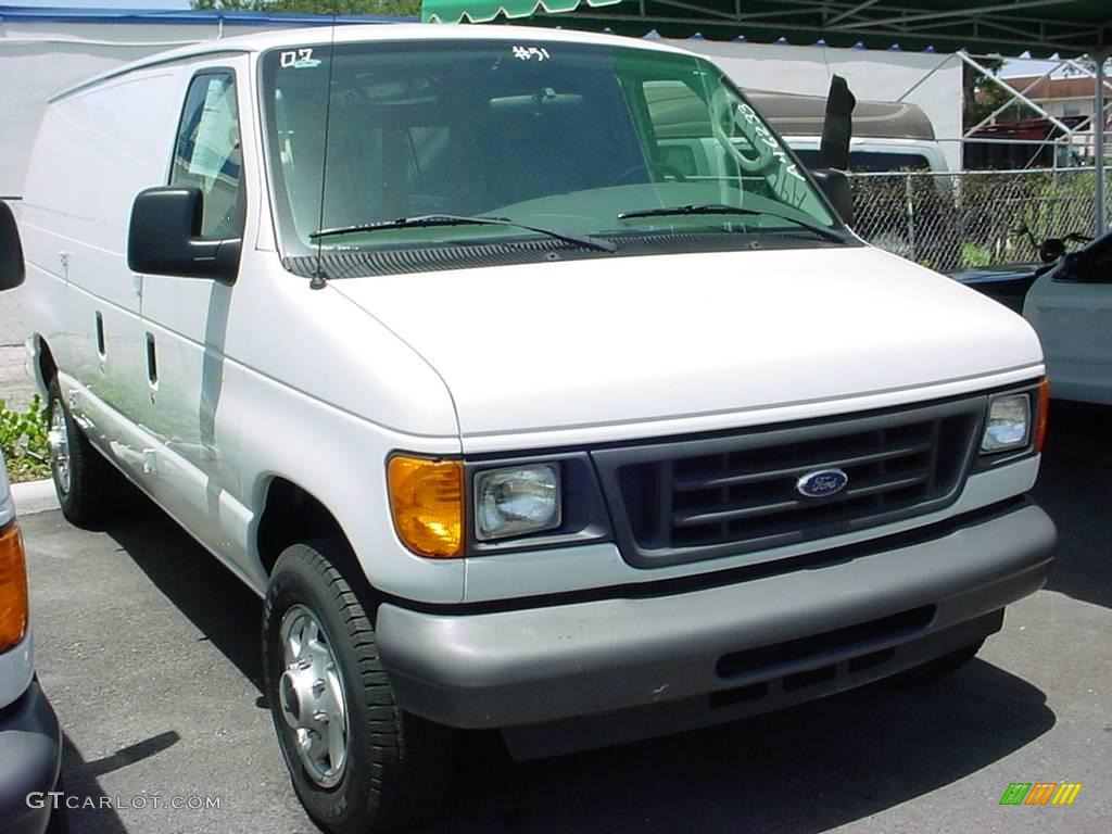 2007 oxford white ford e series van e150 cargo 16455737. Black Bedroom Furniture Sets. Home Design Ideas
