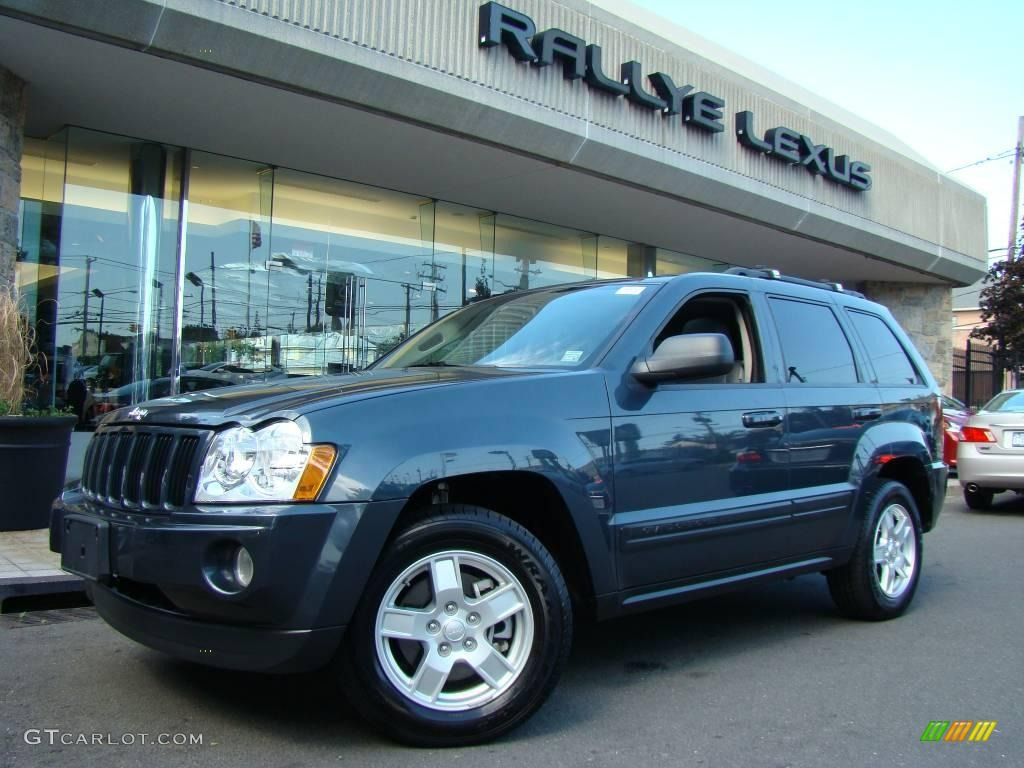 2007 Jeep Grand Cherokee Laredo >> 2006 Steel Blue Metallic Jeep Grand Cherokee Laredo 4x4 ...