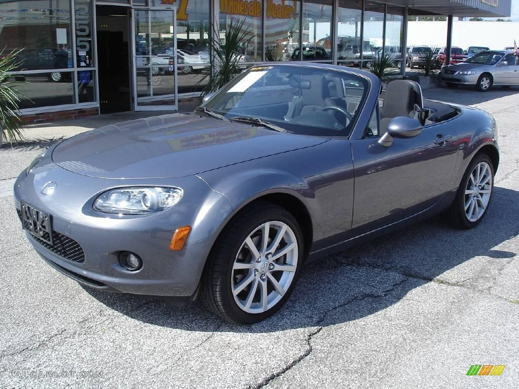 2006 galaxy gray metallic mazda mx 5 miata sport roadster 16475159 car color. Black Bedroom Furniture Sets. Home Design Ideas