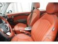 Lounge Redwood Red Leather Interior Photo for 2009 Mini Cooper #16527996
