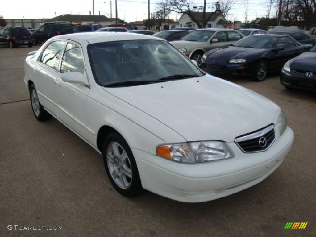 2001 glacier white mazda 626 es v6 1650413 photo 3 gtcarlot com car color galleries gtcarlot com