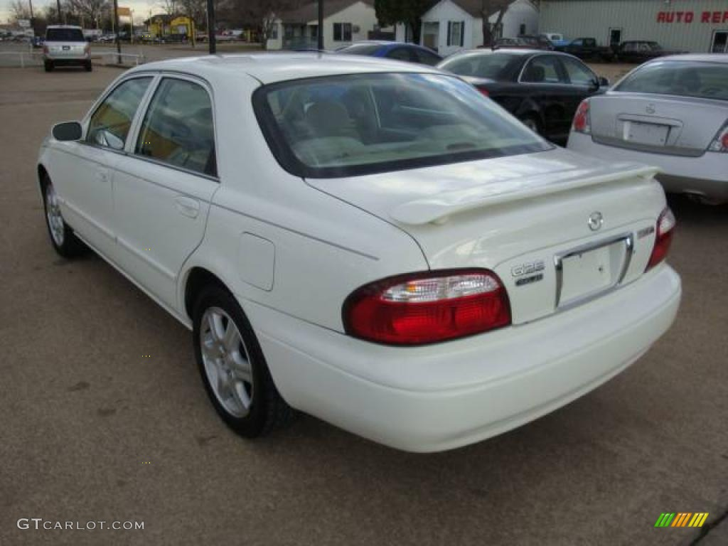 2001 glacier white mazda 626 es v6 1650413 photo 6 gtcarlot com car color galleries gtcarlot com