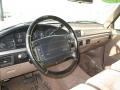 Beige Dashboard Photo for 1995 Ford F150 #16611248
