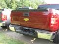 2009 Deep Ruby Red Metallic Chevrolet Silverado 1500 Extended Cab  photo #4