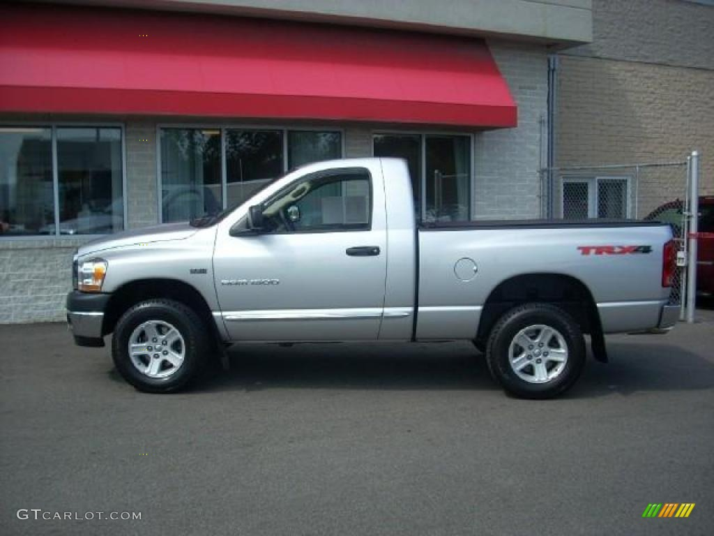 2006 Ram 1500 SLT TRX Regular Cab 4x4 - Bright Silver Metallic / Medium Slate Gray photo #1