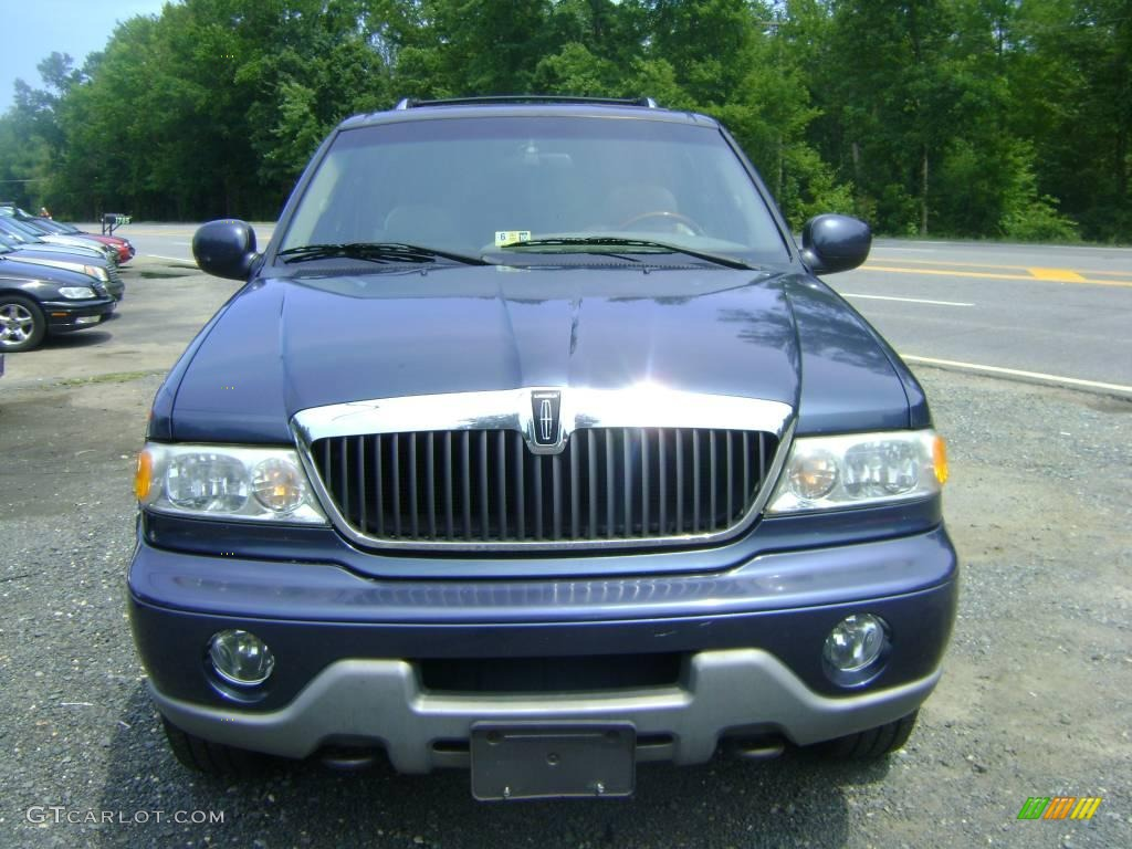 2001 Charcoal Blue Metallic Lincoln Navigator 4x4 16578378 Car Color Galleries