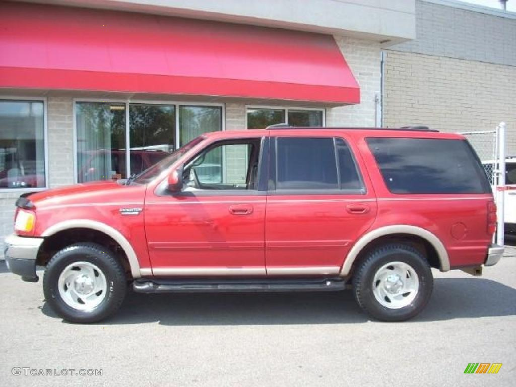 1999 laser red metallic ford expedition eddie bauer 4x4 16578768 gtcarlot com car color galleries gtcarlot com