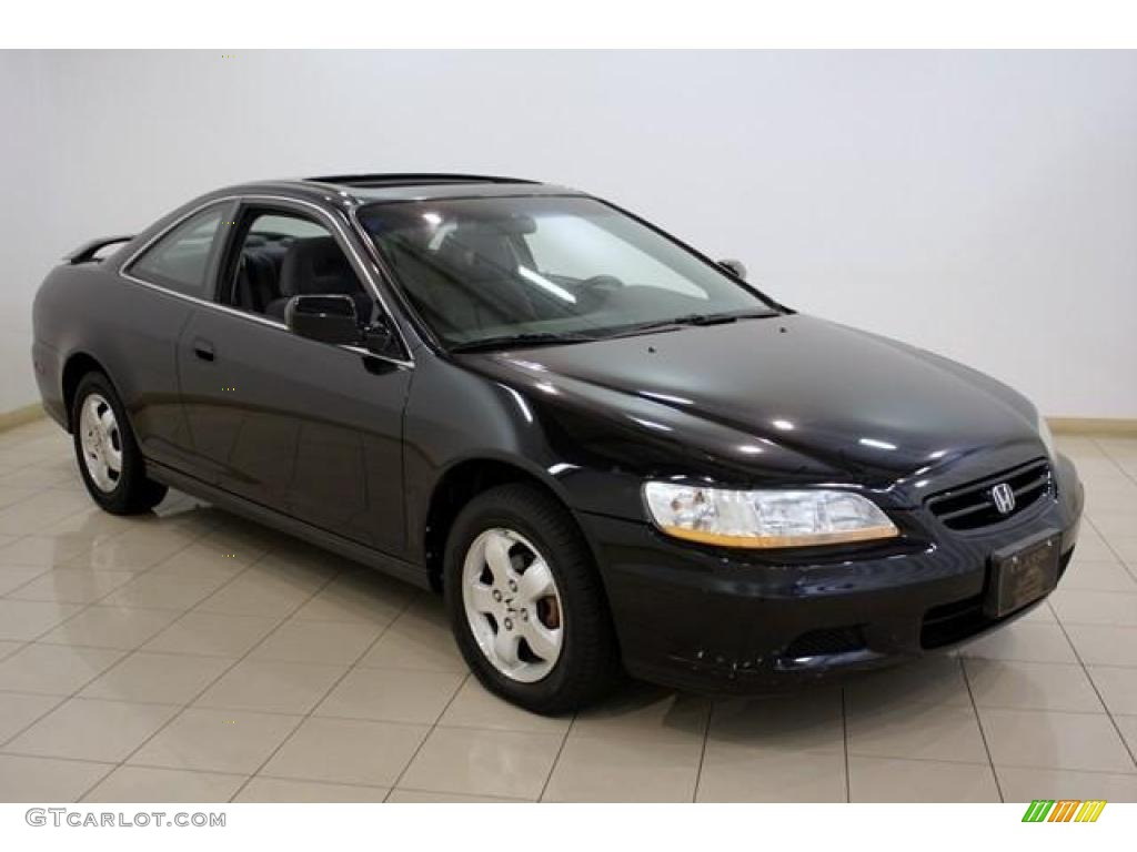 2002 nighthawk black pearl honda accord ex coupe 16580628 car color galleries. Black Bedroom Furniture Sets. Home Design Ideas