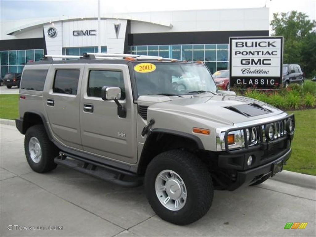 2003 pewter metallic hummer h2 suv 16581082 gtcarlot car pewter metallic hummer h2 vanachro Images