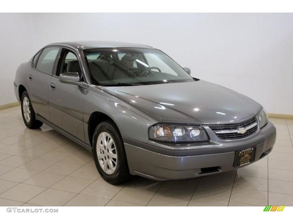 2005 medium gray metallic chevrolet impala 16580670. Black Bedroom Furniture Sets. Home Design Ideas