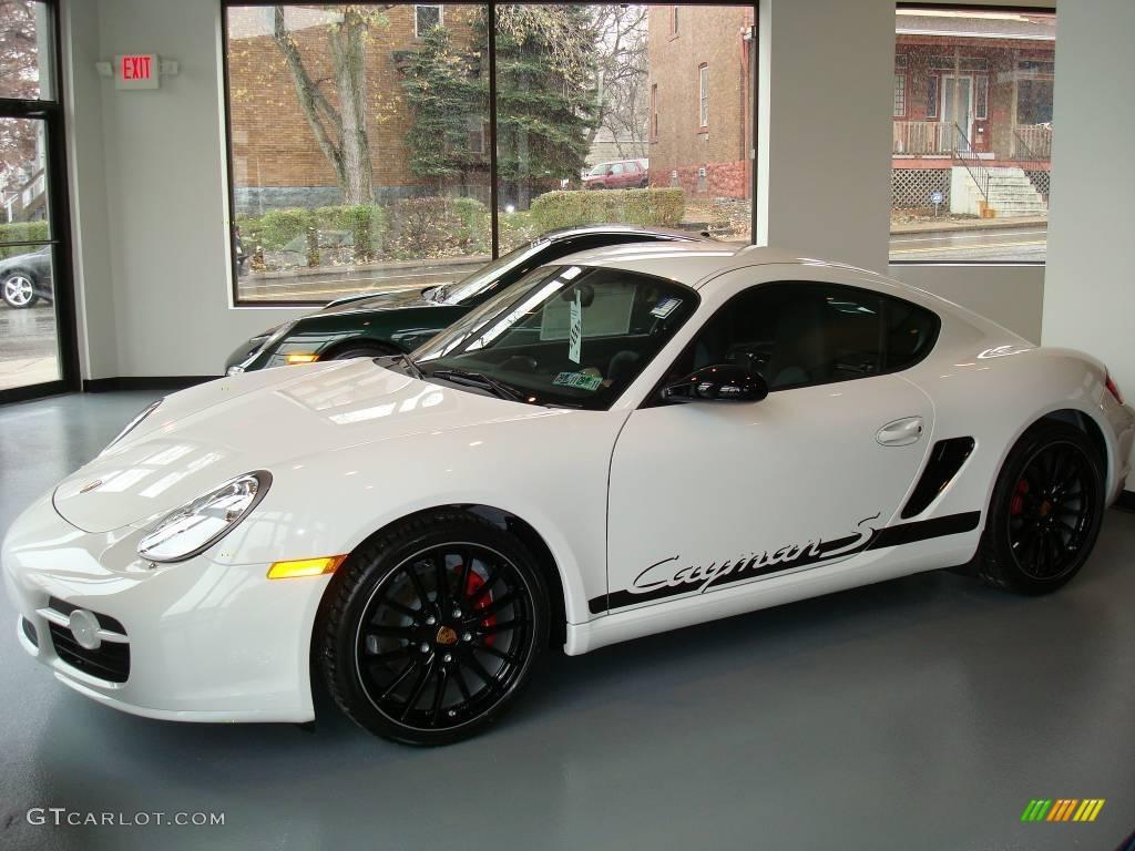 2008 Carrara White Porsche Cayman S Sport 1661911