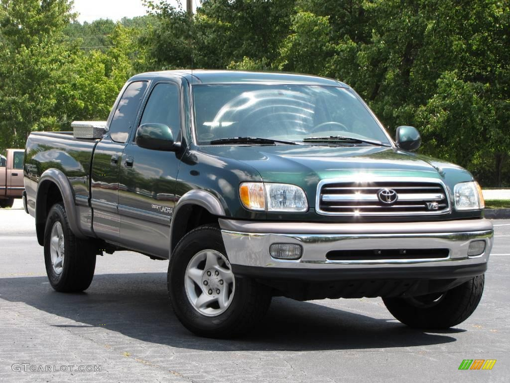 2001 imperial jade mica toyota tundra limited extended cab 16687010 car color. Black Bedroom Furniture Sets. Home Design Ideas