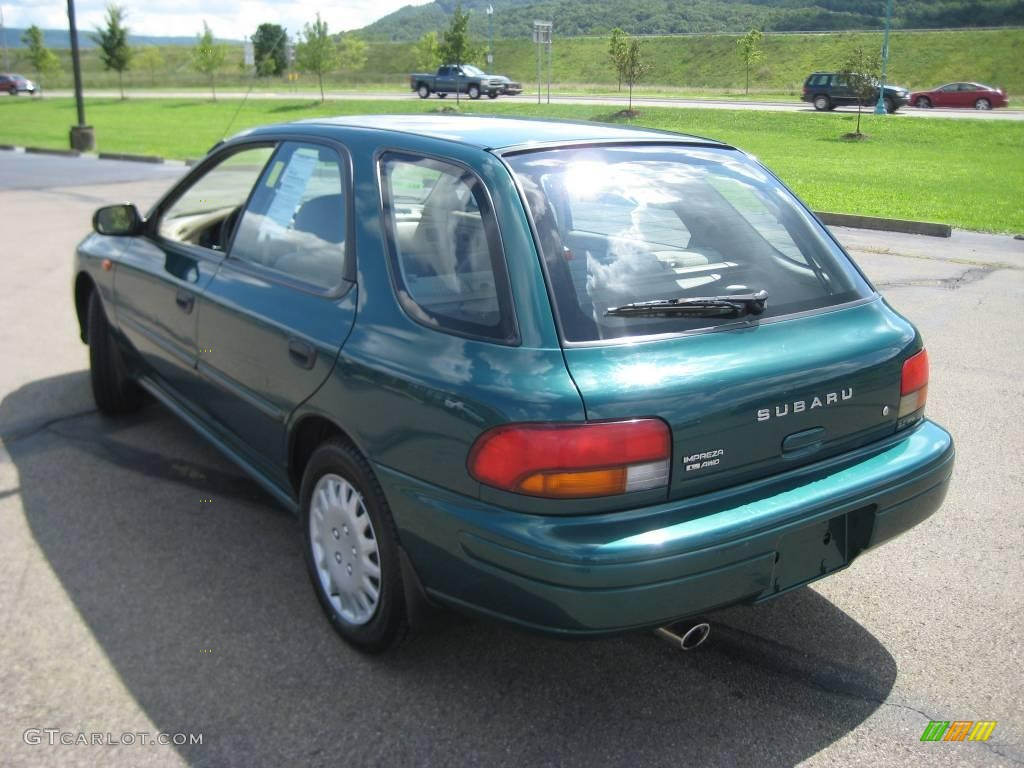 1997 acadia green pearl metallic subaru impreza l wagon 16677427 photo 17 gtcarlot com car color galleries gtcarlot com