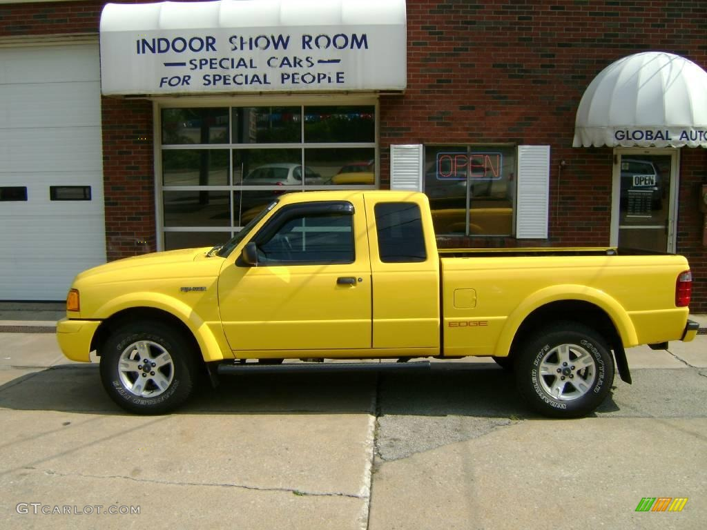 2003 Chrome Yellow Ford Ranger Edge Supercab 4x4 16684020