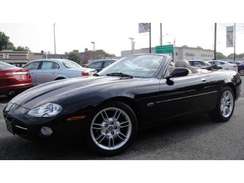 Jaguar Xk8 2002. 2002 Black Jaguar XK XK8