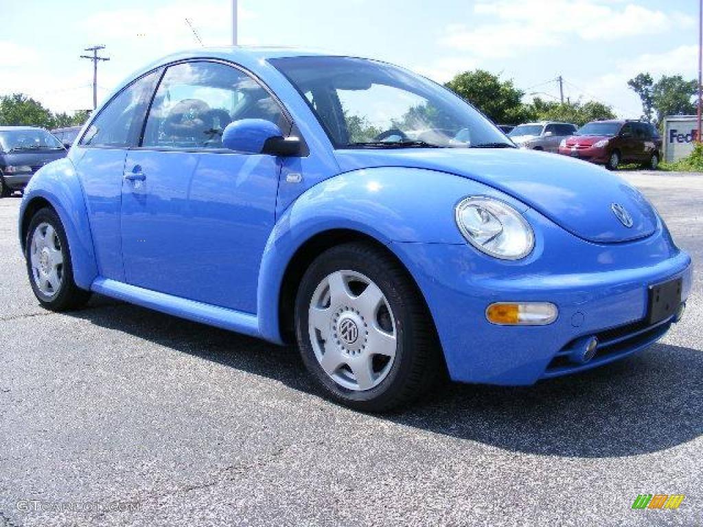 2001 Vortex Blue Volkswagen New Beetle GLS 1.8T Coupe #16746380 Photo #26 | GTCarLot.com - Car ...