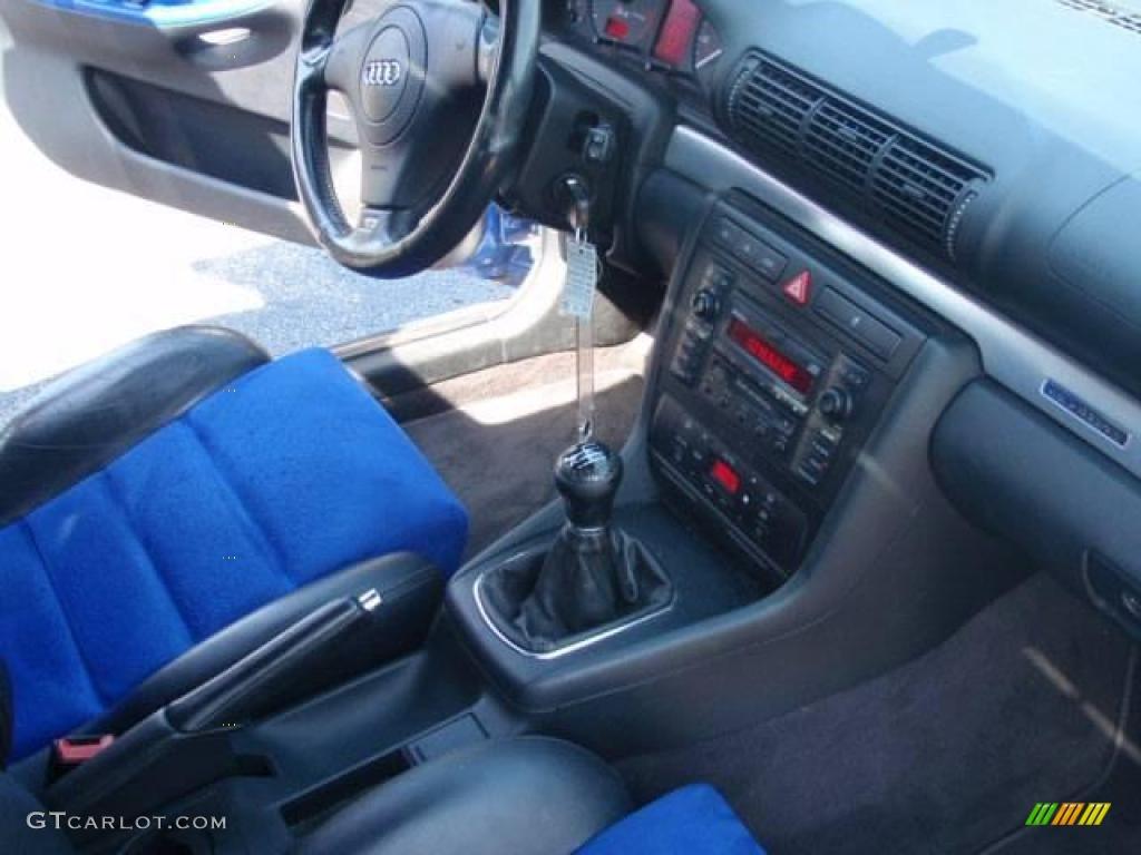 2001 Nogaro Blue Audi S4 2 7t Quattro Sedan 16761117