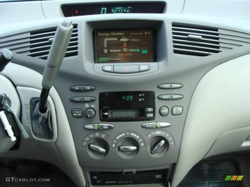 2001 Prius Hybrid Silver Strata Metallic Gray Photo 11