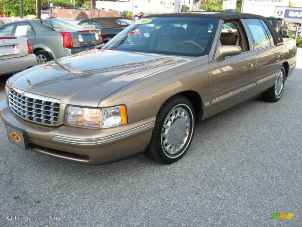 1998 gold fire mist metallic cadillac deville sedan. Cars Review. Best American Auto & Cars Review
