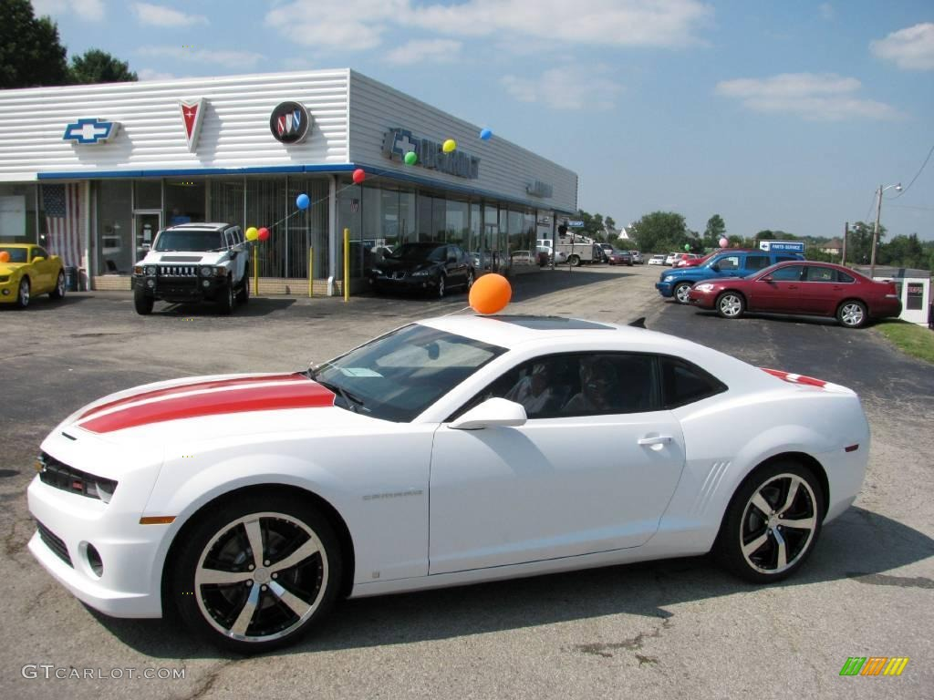 2010 summit white chevrolet camaro ss rs coupe 16762172. Black Bedroom Furniture Sets. Home Design Ideas