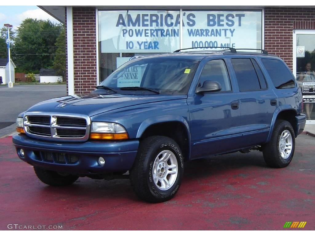 Atlantic blue pearlcoat dodge durango