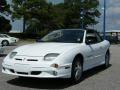 Bright White 2000 Pontiac Sunfire GT Convertible