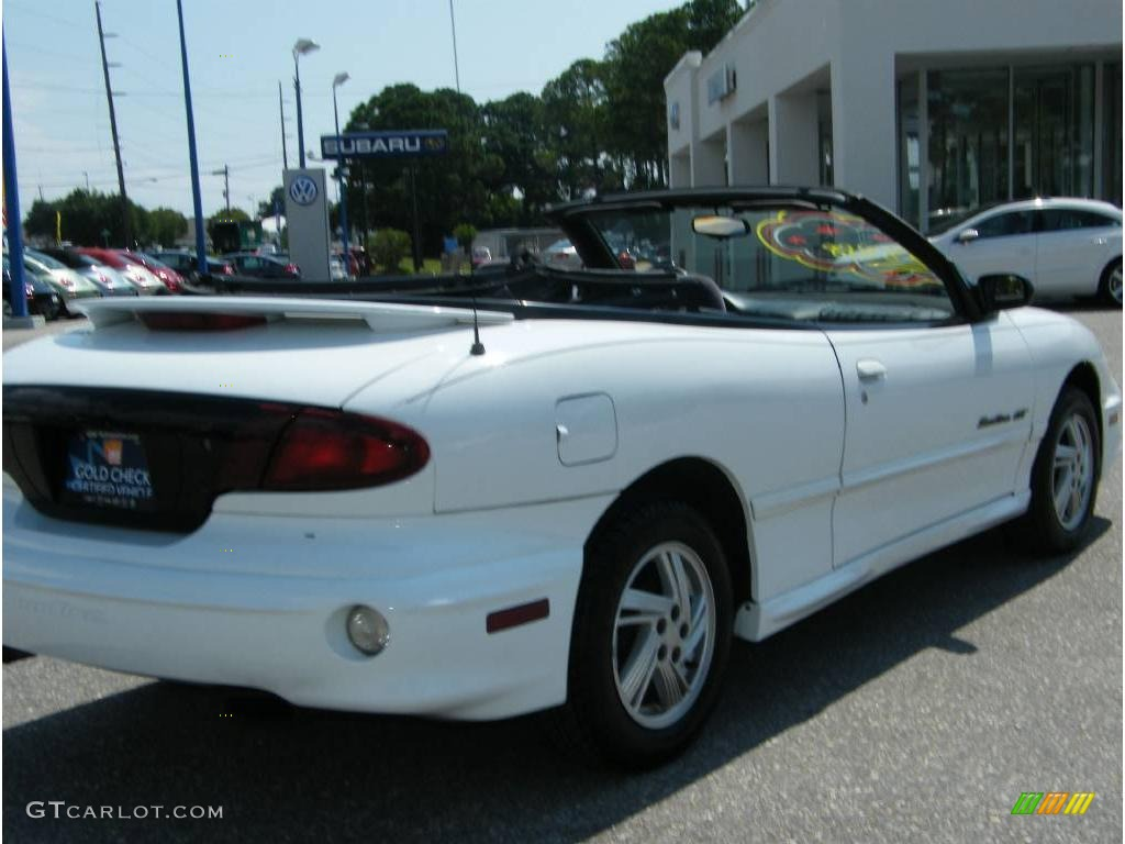 2000 Bright White Pontiac Sunfire Gt Convertible 16753138 Photo 18