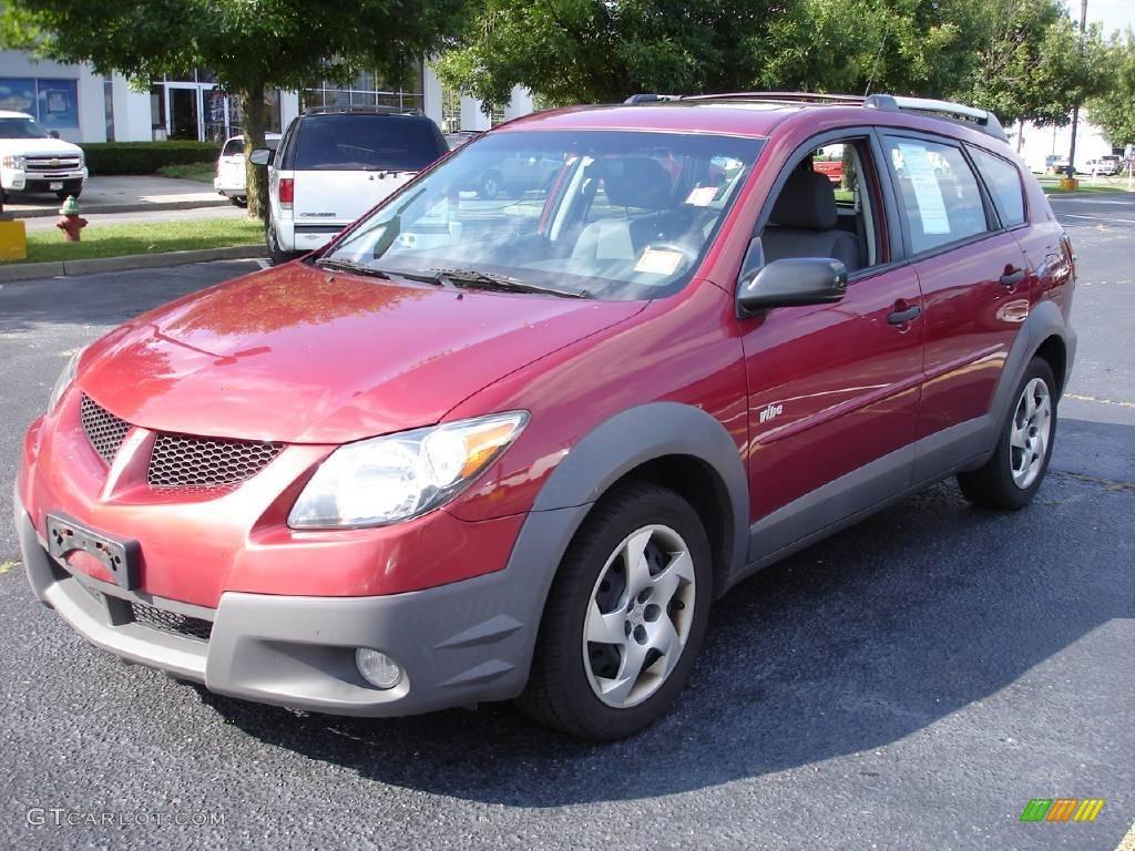 Pontiac Vibe Colors 2003 Salsa Red Pontiac Vibe 16747052