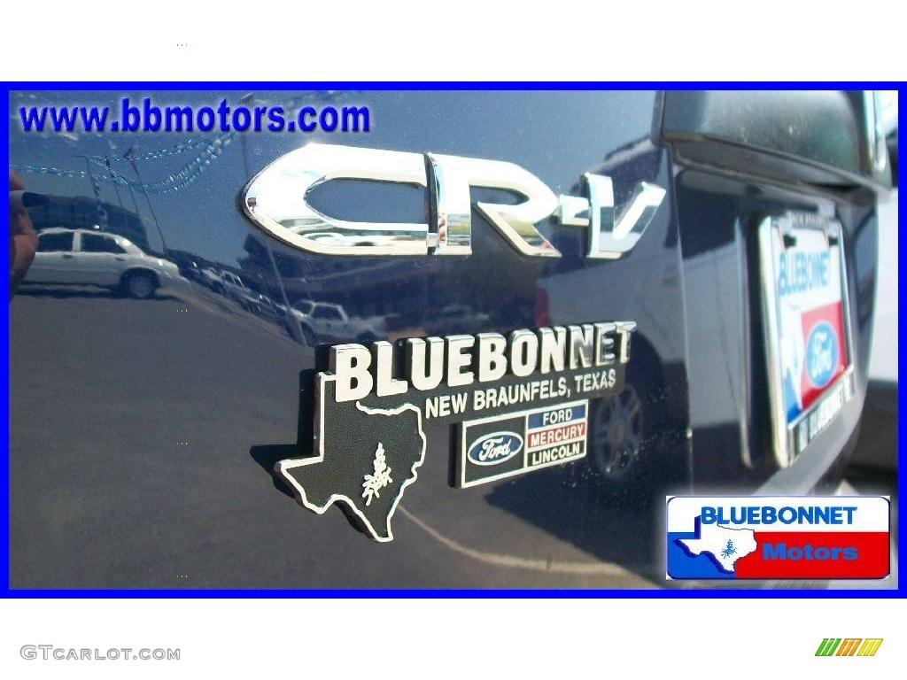 2008 CR-V LX - Royal Blue Pearl / Black photo #8